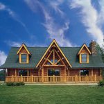 Log Home Blue Sky Barna Homes
