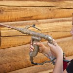 Log Home Chinking Staining Sealing Caulking Repair And Maintenance