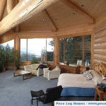 Log Home Interior Picture