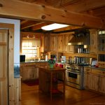 Log Home Kitchen Feel Cozy Lynnette Thefuntimesguide