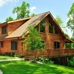Lunden Log Cabin Fairview Homes