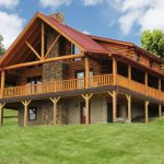 Luxurious Log Home Let Fairview Homes Get The Job Done Right