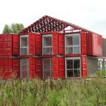 Maison Container Lille Bold Industrial Home Made Shi