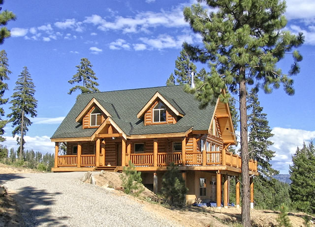 Manufactured Log Home Package Made Coventry Homes