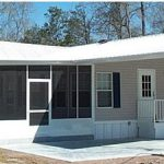 Metal Roof Over Mobile Home