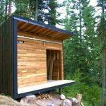 Modern Prefab Oregon Cabin Green Friday