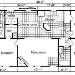 Modular Home Floor Plan Kitchen Island Bar