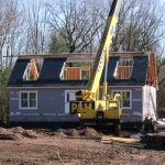 Modular Homes Under Construction