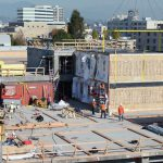 Modular Housing Units Used For Homeless Shelters Row