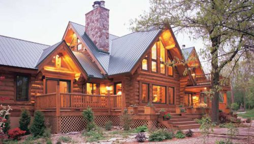 Montana Log Homes Mlh Eden Camp