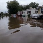 Neighborhoods Evacuated Longmont River Cuts City Half