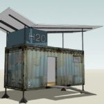 New Container House Prototype For Haiti Shipping Housing