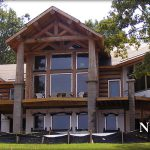 North Carolina Log Homes Timber Frame