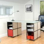Office Desk Design Made From Cube Modular Furniture System Yube