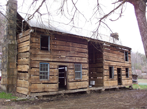 Old Style Log Homes