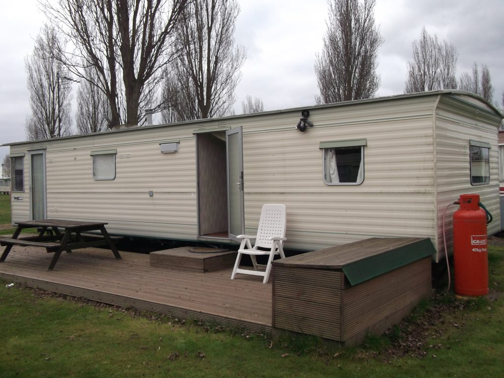 Plot Bed Mobile Home Decking Seaview