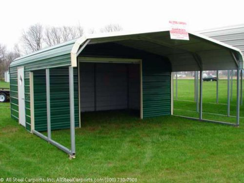 Prefabricated Container Garage Steel Carports