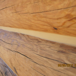 Professional Application Log Home Caulking