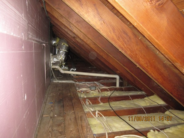 Rigid Board Installation Knee Wall Attic Which Serves