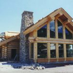 Scribe Fit Log Home Courtesy Place The Sun Homes Inc