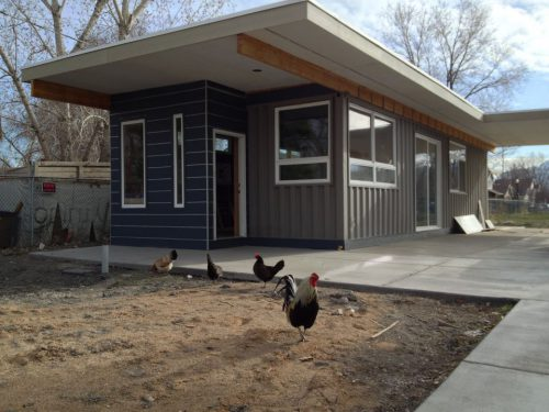 Shipping Container House Sarah Utah