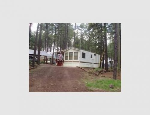 Single Wide Mobile Home Manufactured