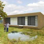 Small Prefab Homes Design Nest Box Fuses Passivhaus And For