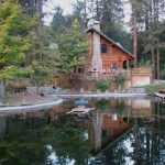 Spectacular Log Home Northern California