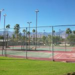 The Colony All Age Mobile Home Park Rancho Mirage Tennis