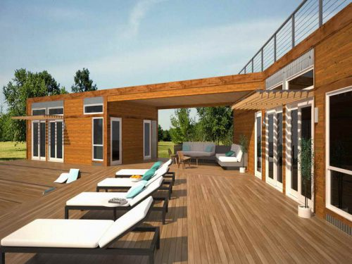 The Modern Green Prefab Homes