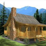 The Monticello Log Home Floor Plan Honest Abe Homes Inc