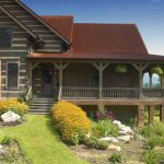 The Old Look New Log Home