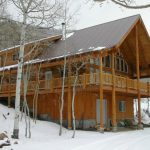 The Timberline Log Home Design Plan Feet Main Level