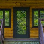 The Trees Log Home Front Door And Windows Emtboy
