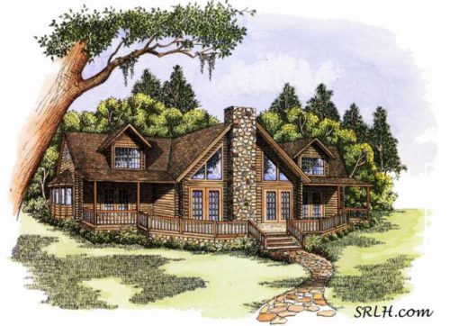 Thetop Selling Floor Plan Shenandoah Log Home Planfirst