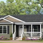 This Home Features Standard Integrated Front Porch And Panelized