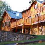 Traditional Element The Log Cabin Homes Interior Foudation