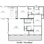 Triple Wide Floorplans