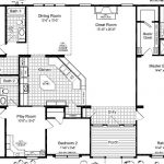 Triple Wide Mobile Home Floor Plans Smartcashhomes