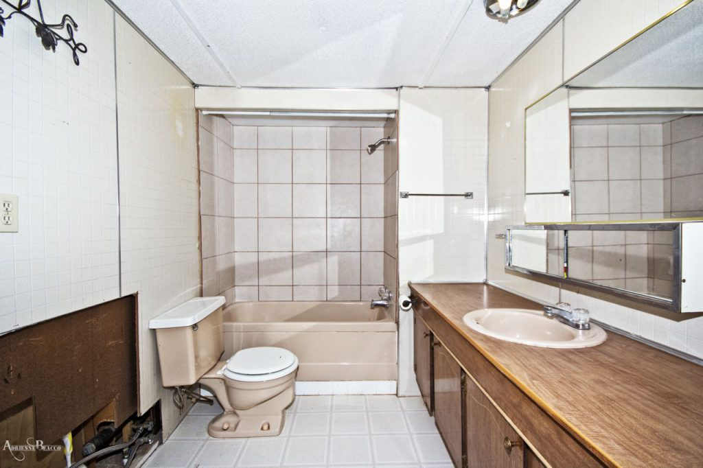 Mobile Home Bathroom