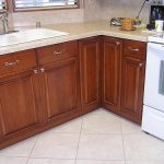 Mobile Home Kitchen Made Out Maple Cabinets