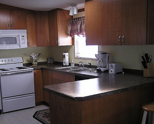 Mobile Home Kitchen Maple Cabinets Flickr